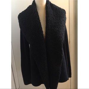 Heavy black long sleeve jacket